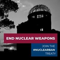 """Giornata ONU per l'abolizione delle armi nucleari. Senzatomica e Rete Disarmo: """"Italia, ripensaci"""""""