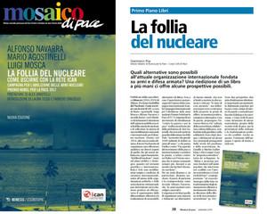 MOSAICO DI PACE - La follia del nucleare. Come uscirne con la Rete ICAN