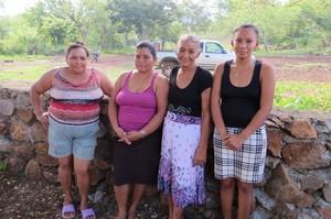 Le donne di Puerto Sierra (Foto G. Trucchi | Alba Sud)