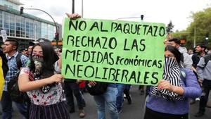 proteste contro il paquetazo in Ecuador