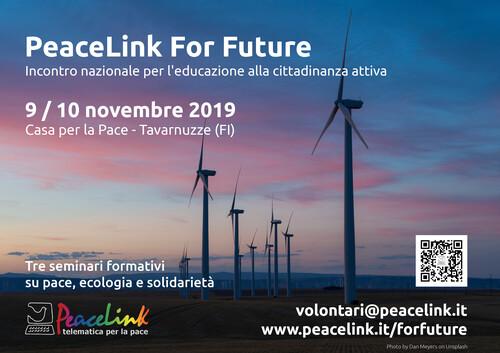 PeaceLink For Future - Seminario formativo sulla cittadinanza attiva