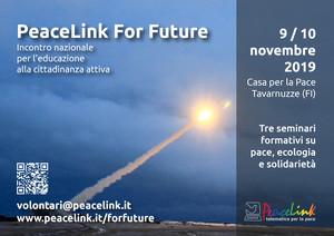 PeaceLink For Future - Incontro nazionale di educazione alla cittadinanza attiva