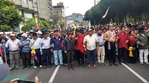 Protesta a Quito (teleSUR)