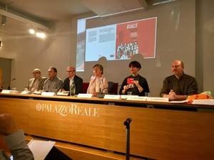 Con Mimmo Lucano, Moni Ovadia, Vittorio Agnoletto e tutti noi a Milano a Palazzo Reale