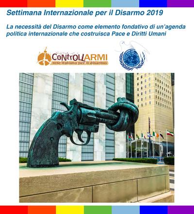Rete Italiana per il Disarmo Settimana Diaarmo ONU 2019