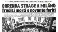 Vi ricordate di piazza Fontana? Fu «strage di Stato»