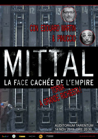 """Seconda proiezione a Taranto del documentario """"Mittal, il volto nascosto dell'Impero"""", diretto da Jérôme Fritel"""