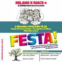 Milano per Riace. La Solidarietà non si arresta