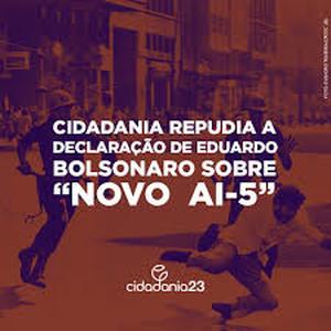 Eduardo Bolsonaro vuol ripristinare l'AI-5