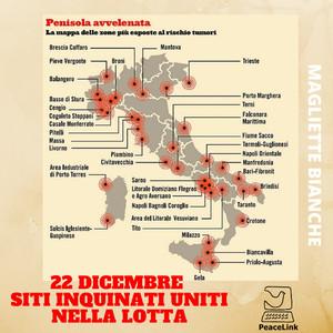 I Siti di Interesse Nazionale (SIN) in Italia sono i siti in cui vanno effettuate le bonifiche ambientali