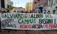 Milano: Comitato a difesa del Parco del Campus Bassini