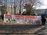 Milano: Citta' Studi blindata, alberi del parco Bassini tagliati