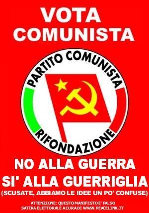 La guerriglia, amante scomoda del pacifismo postcomunista