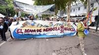 Argentina: Mendoza si mobilita in difesa dell'acqua