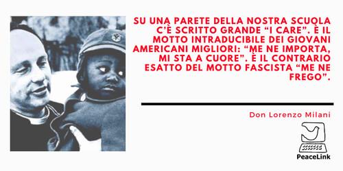 Don Lorenzo Milani costituisce un punto di riferimento per la storia della pace e per la pedagogia degli oppressi. In una pagina web abbiamo cercato di raccogliere alcuni video su di li. Clicca qui per vederli.