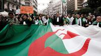 """Le """"sardine"""" in piazza da un anno in Algeria"""