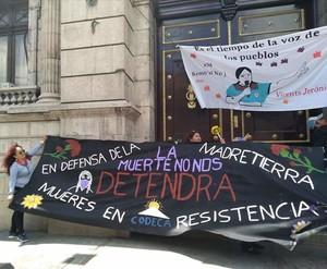 Manifestazione per Dominga Ramos
