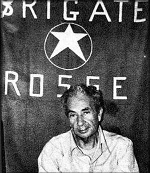Aldo Moro durante il rapimento delle BR nel 1978