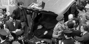 Aldo Moro, il corpo senza vita