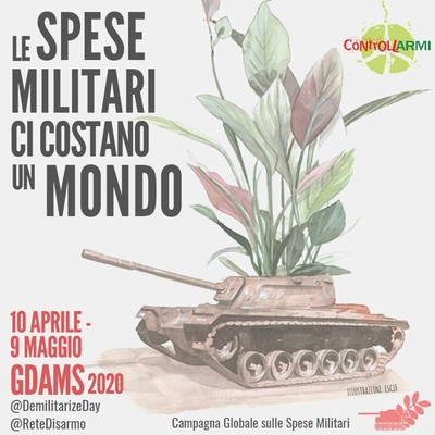 Campagna Globale sulle spese militari 2020
