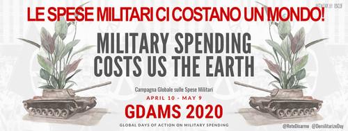 GCOMS 2020 - Le spese militari ci costano un mondo