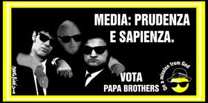 """Un manifesto per un candidato """"fuori concorso"""", in missione per conto di Dio. Si tratta del Papa Giovanni Paolo II, che il 23 marzo ha dichiarato che """"Le istituzioni devono varare procedure di regolam"""