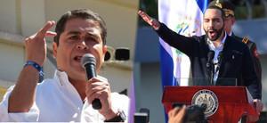 Juan Orlando Hernández (foto G. Trucchi | Rel UITA) e Nayib Bukele (foto AFP)