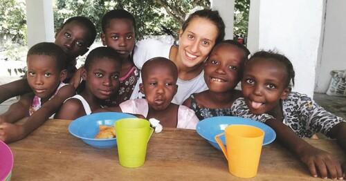 """E' stata liberata. """"Sono stata forte, ho resistito"""", ha detto Silvia Romano, volontaria italiana che dedicava assistenza ai più poveri in Africa."""