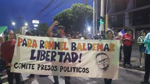 Manifestazione a Teguigalpa (foto Herrera Portillo)