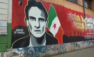 Murales dedicato a Dante Di Nanni
