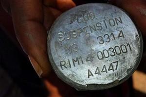 Bombe italiane con il codice A4447