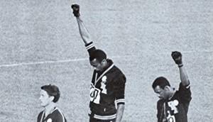 Carlos e Smith nelle olimpiandi del 1968