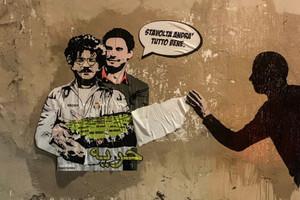 Poster Regeni con Zaky