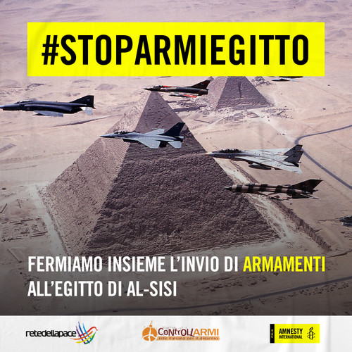 Stop Armi Egitto Piramidi