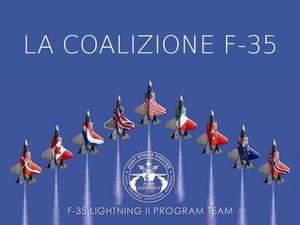 coalizione programma F-35