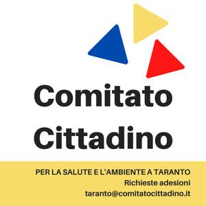 Il logo del Comitato Cittadino a Taranto