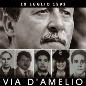 Via d'Amelio. 19 luglio 1992.