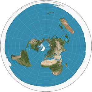 Ecco come sarebbe la Terra secondo la Flat Earth Society che raduna i terrapiattisti odierni