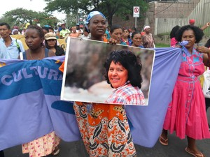 Popoli dell'Honduras chiedono giustizia (Foto G. Trucchi | LINyM)