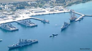 Base navale NATO in Mar Grande a Taranto