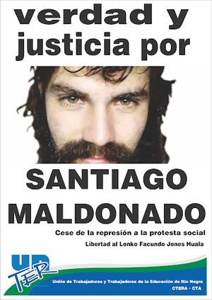 Argentina: per l'omicidio Maldonado indagato l'ex capo di gabinetto di Patricia Bullrich