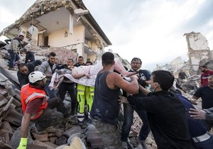 Soccorsi terremoto Amatrice