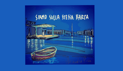 """""""Siamo sulla stessa barca"""", Piazza San Pietro"""