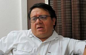Jorge Santos di Udefegua (Foto G. Trucchi | LINyM)