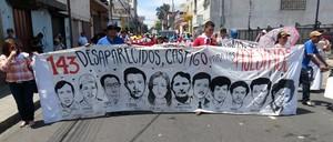 Manifestazione a Tegucigalpa contro l'impunità (Foto archivio G. Trucchi)