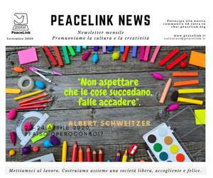 La newsletter di PeaceLink (settembre 2020)