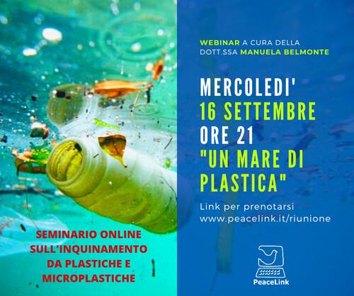 Nuovo webinar di PeaceLink mercoledì prossimo. L'inquinamento marino da microplastiche è al centro del seminario online. Puoi prenotarti cliccando qui.