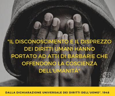 Clicca qui per leggere il testo della Dichiarazione Universale dei Diritti Umani