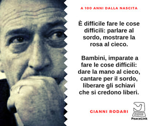 Gianni Rodari a 100 anni dalla nascita