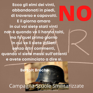 Bertolt Brecht, l'elmo dei vinti